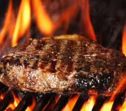 hand cut sirloin steak