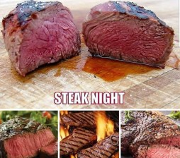 steak night AD