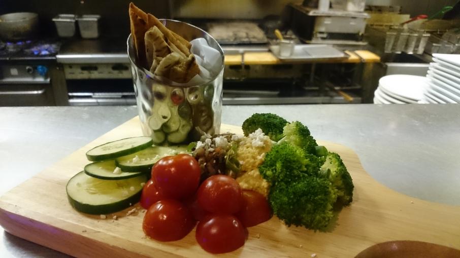 hummus-plate