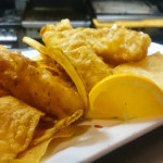 beer battered fish entree