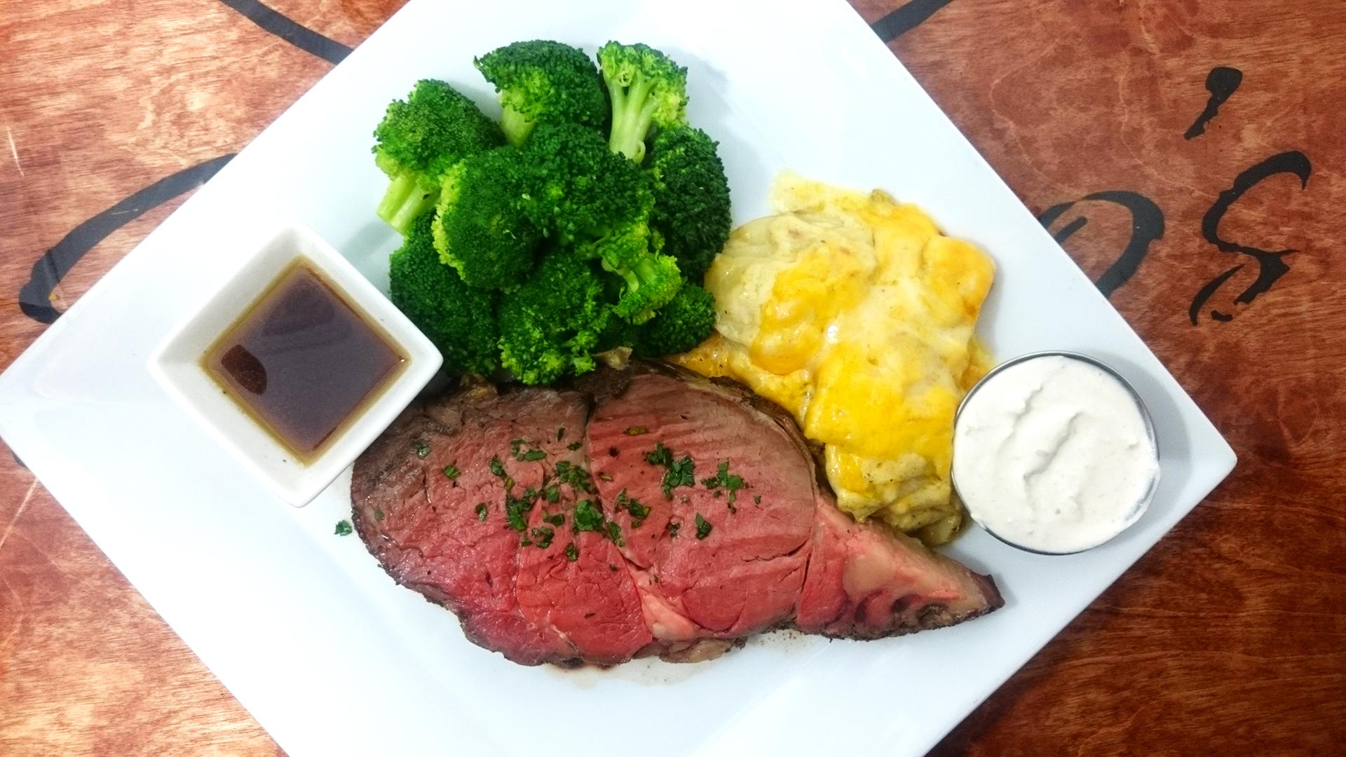 Prime Rib Dinner Special