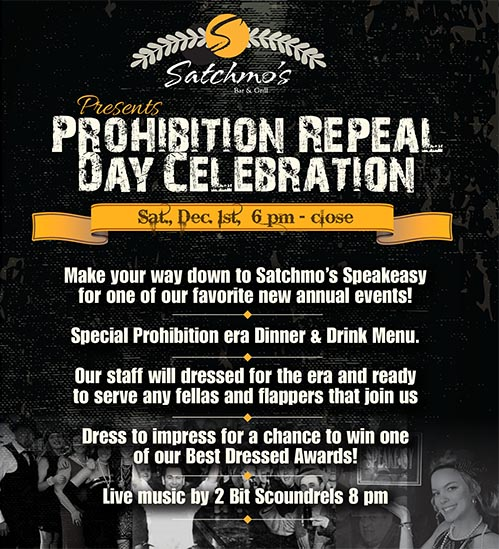 Repeal Day Flyer
