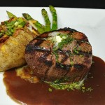 Filet with Guinness Demi