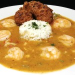 Shrimp Crawfish and Gator Etouffee