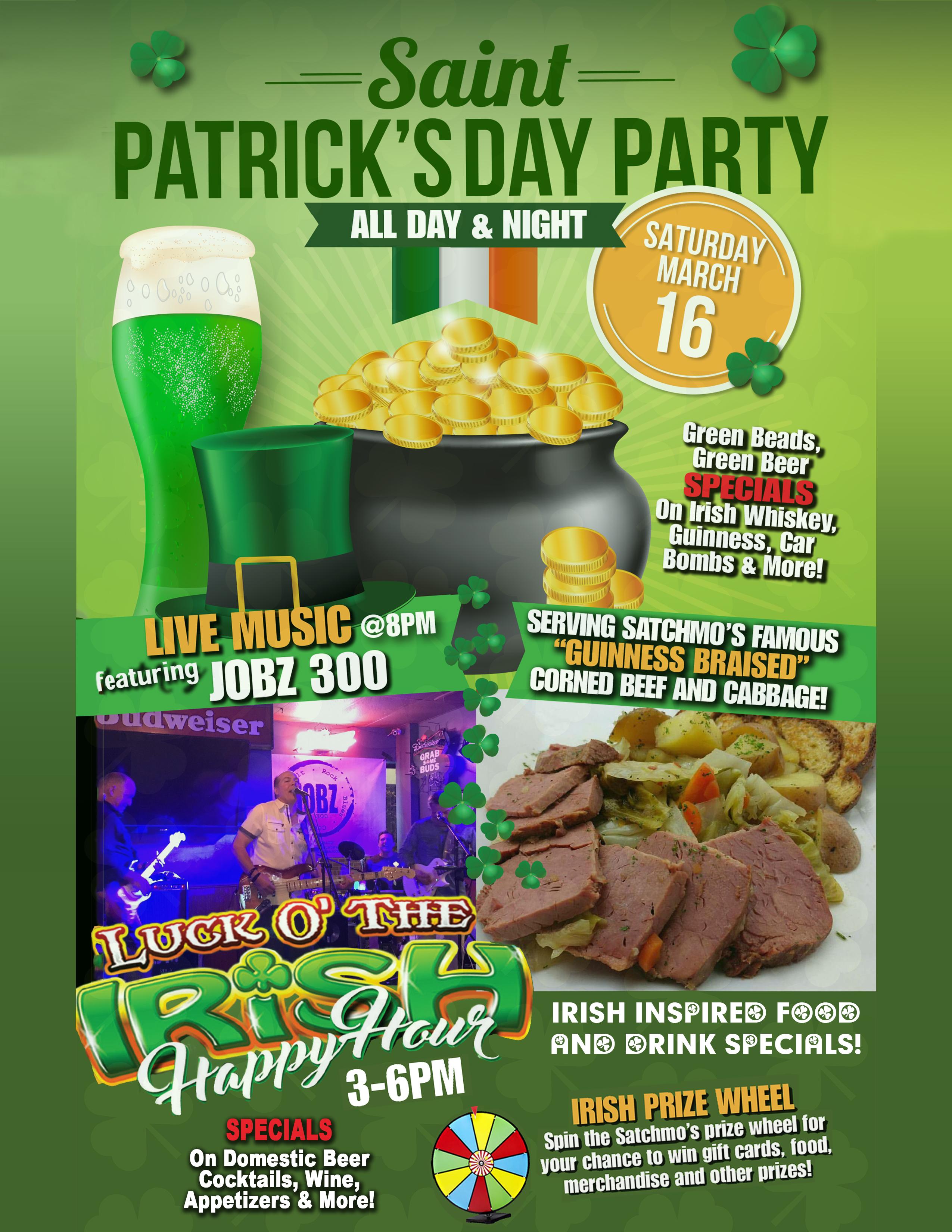 St Patricks Day flyer 2019