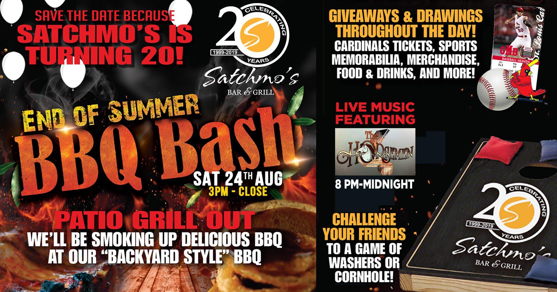 Satchmos 20th BBQ Bash